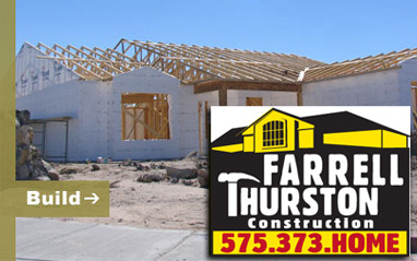 Farrell Thurston Construction - Las Cruces, New Mexico new home construction